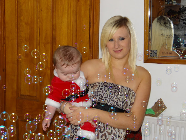 Babies First Christmas - 6 months old