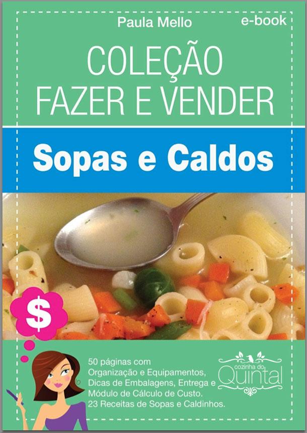 Ebook Sopas e Caldos Cozinha do Quintal