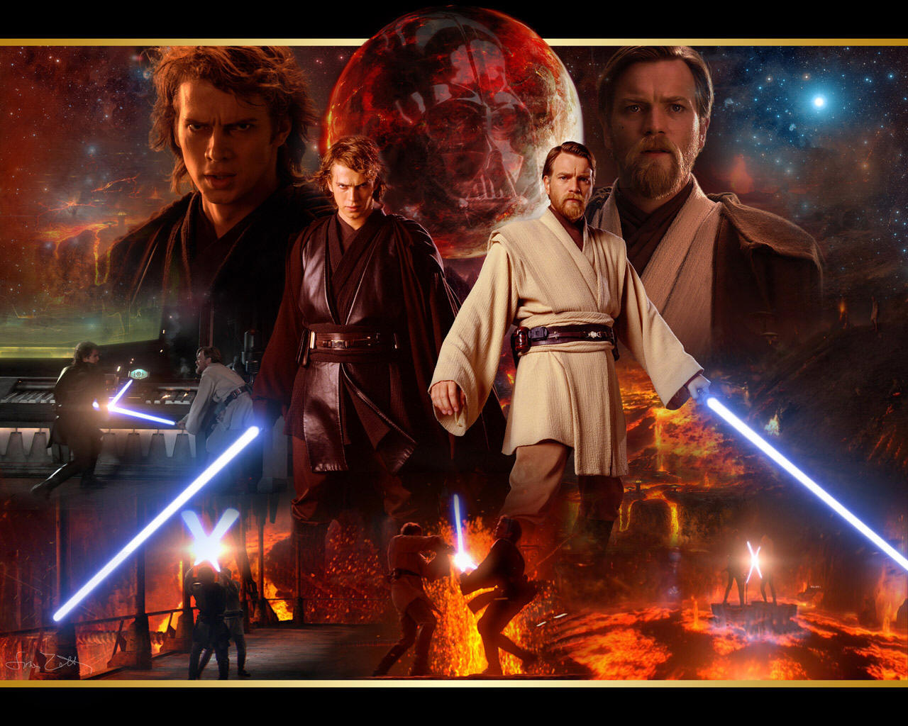 Star Wars Anakin Skywalker Wallpaper: STAR WARS HD WALLPAPERS