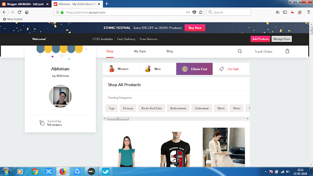 START ONLINE STORE WITHOUT INVESTMENT - EARN HUGE AMOUNT