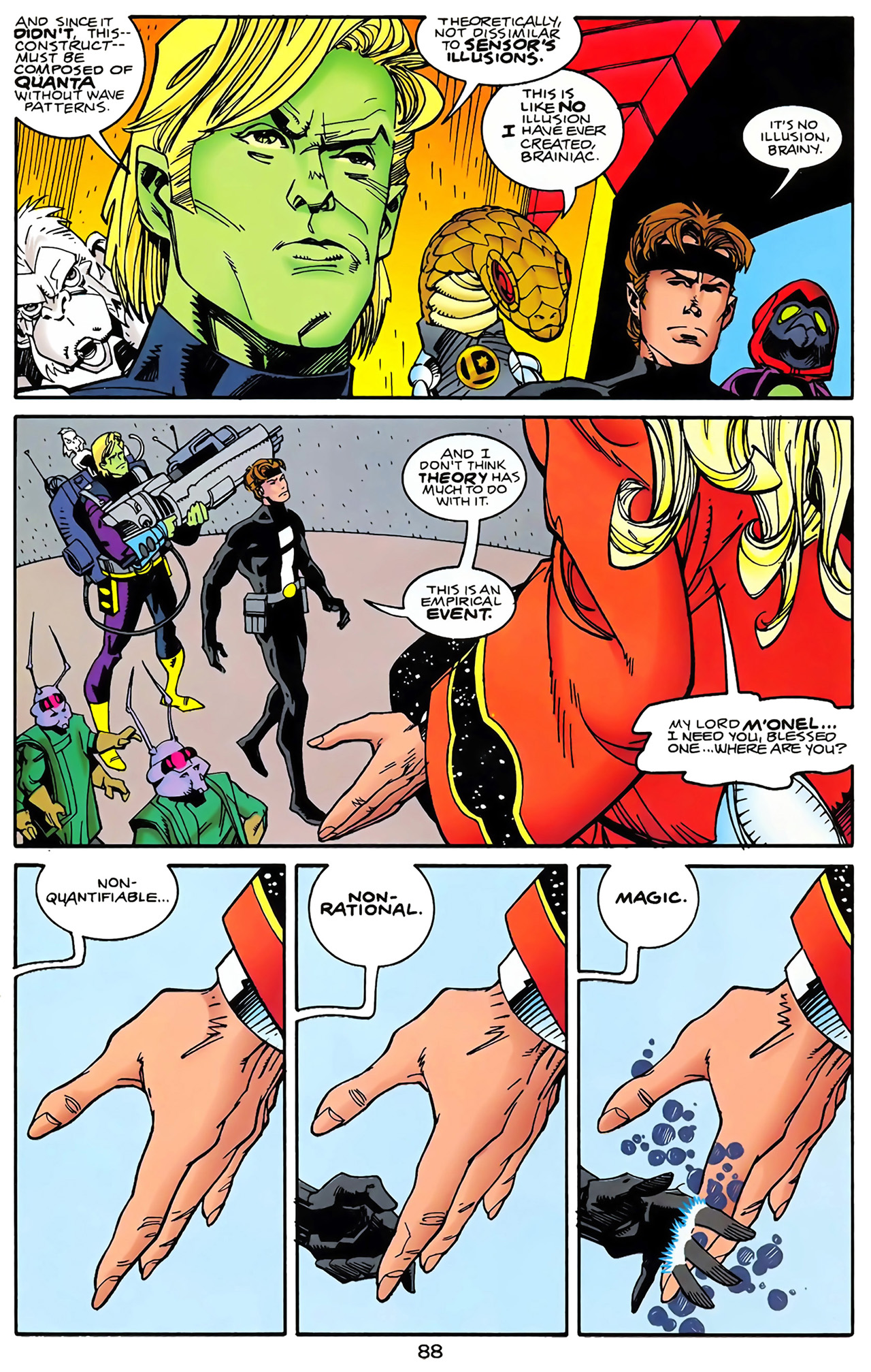 Legion of Super-Heroes (1989) 100 Page 80