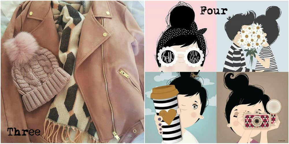 Monthly Favourites #7 - Pink Suede Jacket / Illustrator