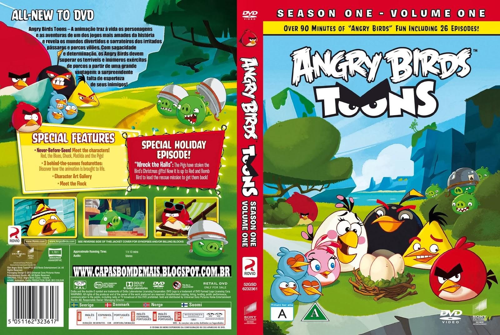 EDITADAS CC 2: Angry Birds Toons