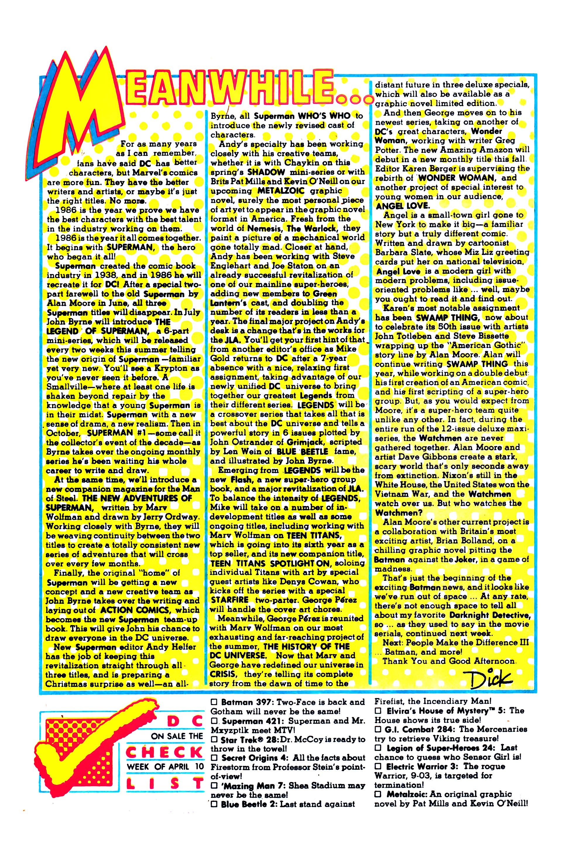Read online Secret Origins (1986) comic -  Issue #4 - 30