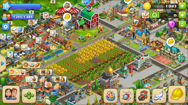 Cara Bermain Game Township di Android dan iOS