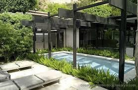 desain terbaru kolam renang untuk rumah minimalis