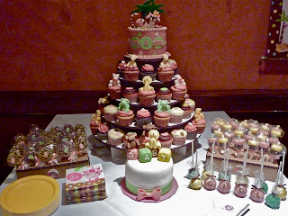 Half Baked Co. Dessert Table (Queen of the Jungle Baby Shower)