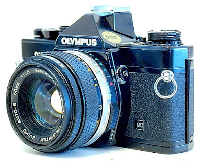 Olympus OM-2n, Right side front