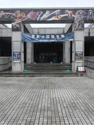 千葉県立中央博物館 驚異の深海生物 正面玄関の正面