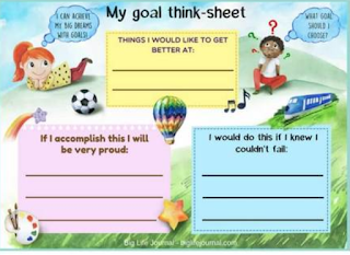 Teachingiselementary.blogspot on Teaching Children To Reflect And Set Goals