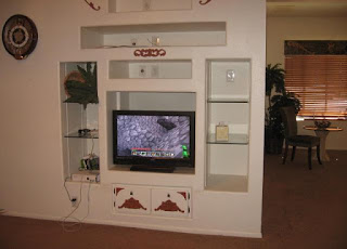 outdated tv cabinet too deep
