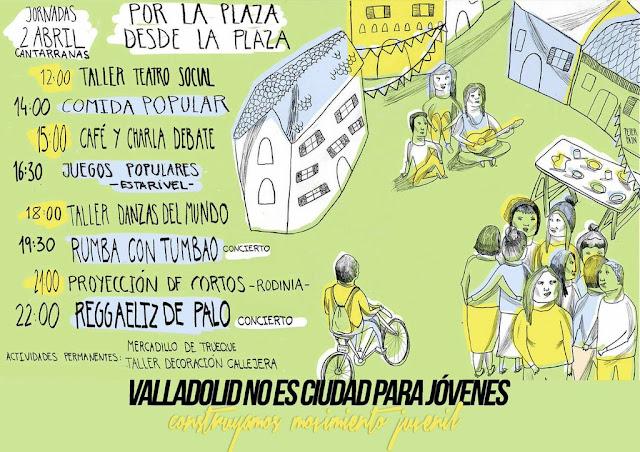 Rodinia 8º edición festival cortos valladolid cantarranas jovenes