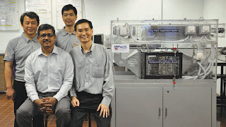 NUS Engineering researchers developed a novel air cooling technology that could redefine the future of air-conditioning. (Credit: news.nus.edu.sg) Click to Enlarge.