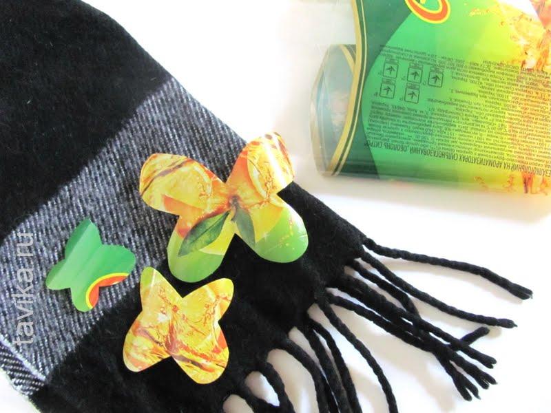 Опыт со статическим электричеством - дрессированные бабочки