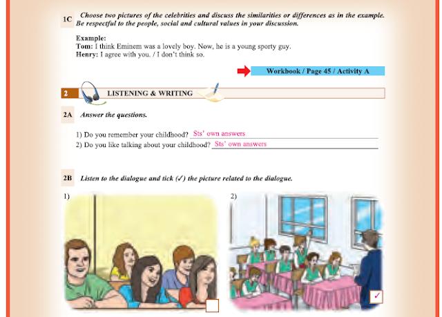 9. Sınıf Yıldırım Yayınları İngilizce A1.1 Ders Kitabı 74. Sayfa Cevapları Theme 6 History