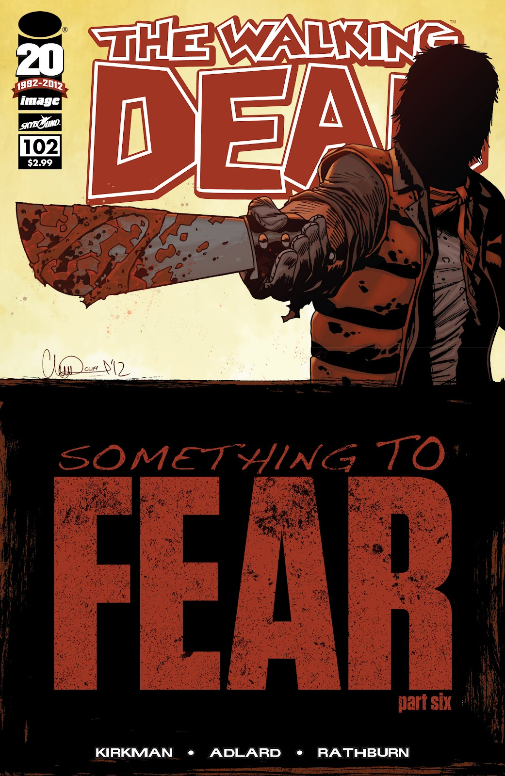 The Walking Dead issue 102 - Page 1