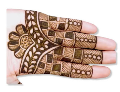 Mehndi Design only for Fingers