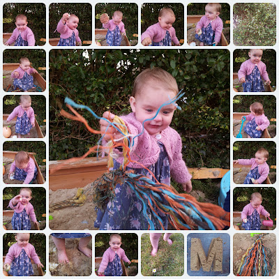 , Our First Messy Play for Matilda Mae
