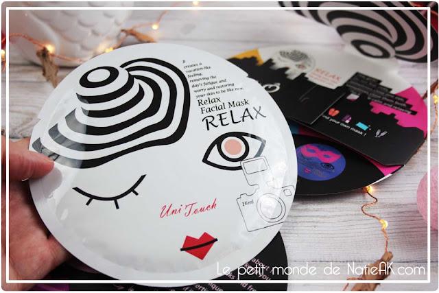 Masque Relax Miss Ô de Unitouch