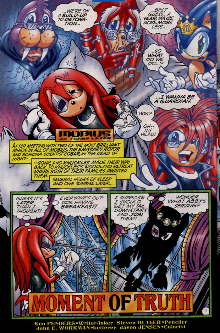 Read online Sonic The Hedgehog comic -  Issue #142 - 19