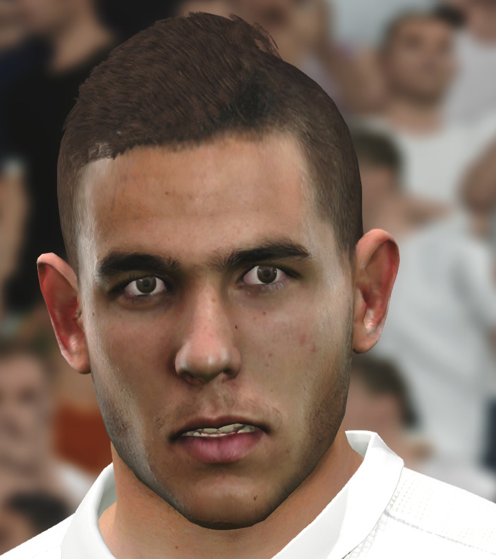 Pes 2019 Faces Lucas Moura By Hugimen: Ultigamerz: PES 2017 Lucas Hernández (Atlético Madrid) Face