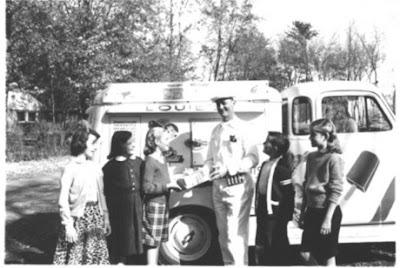 Vintage Ice Cream Truck