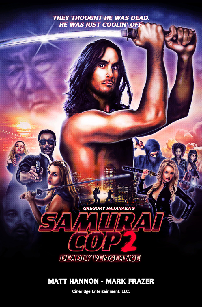 Samurai Cop 2: Deadly Vengeance - HD 720p - Legendado