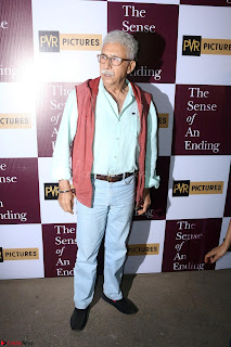 Nimrat Kaur and Naseeruddin Shah at Special Screening Of movie The Sense Of An Ending 15.JPG