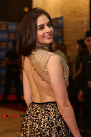 Actress Model Sarah Hopkins Latest Pos in Lehenga Choli at SIIMA Short Film Awards 2017 .COM 0055.JPG