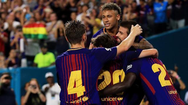 Barca Hilangkan Neymar dalam Poster Terbaru di Camp Nou