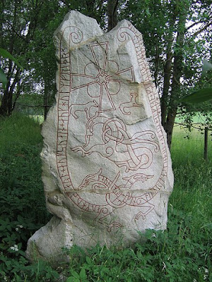The Lingsberg Runestone, Sweden, known as U 240 Attribution: I, Berig CC BY-SA 3.0
