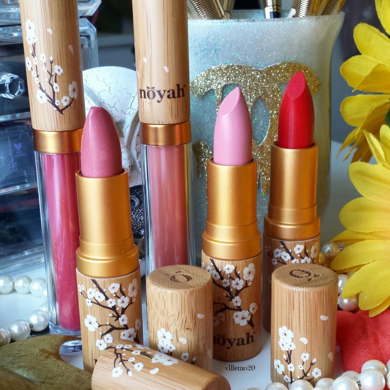 Noyah, natural Cosmetics ~ Lipsticks Review