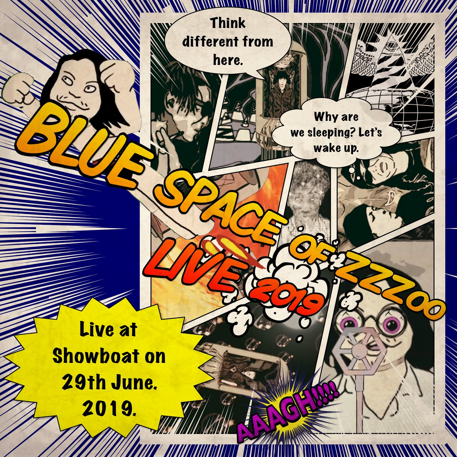 BLUE SPACE OF ZZZoo LIVE 2019