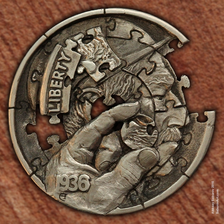 01-Hobo-Puzzle-Aleksey-Saburov-Detailed-Carvings-on-Hobo-Nickel-Coins-www-designstack-co