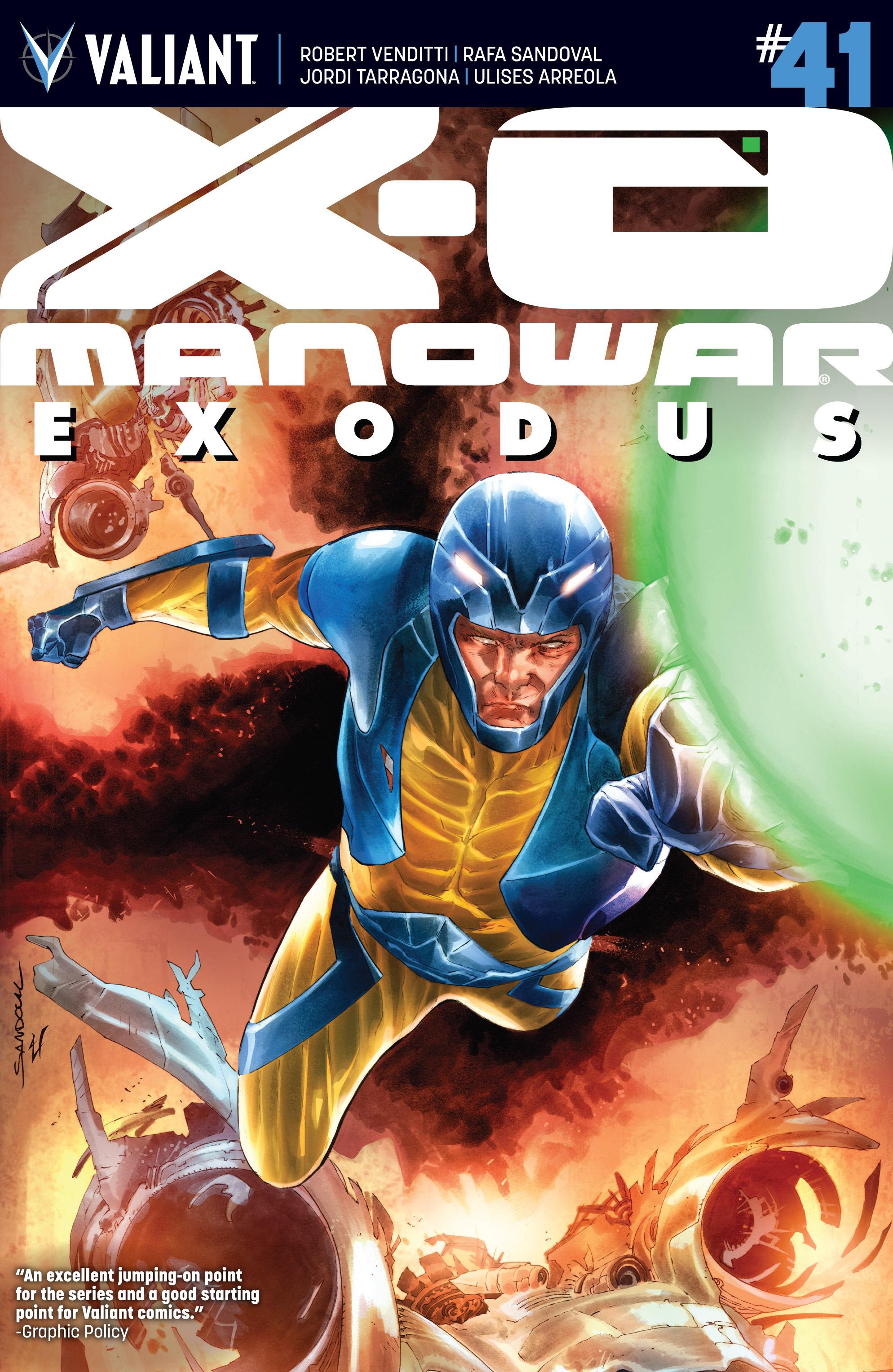 X-O Manowar (2012) 41 Page 1