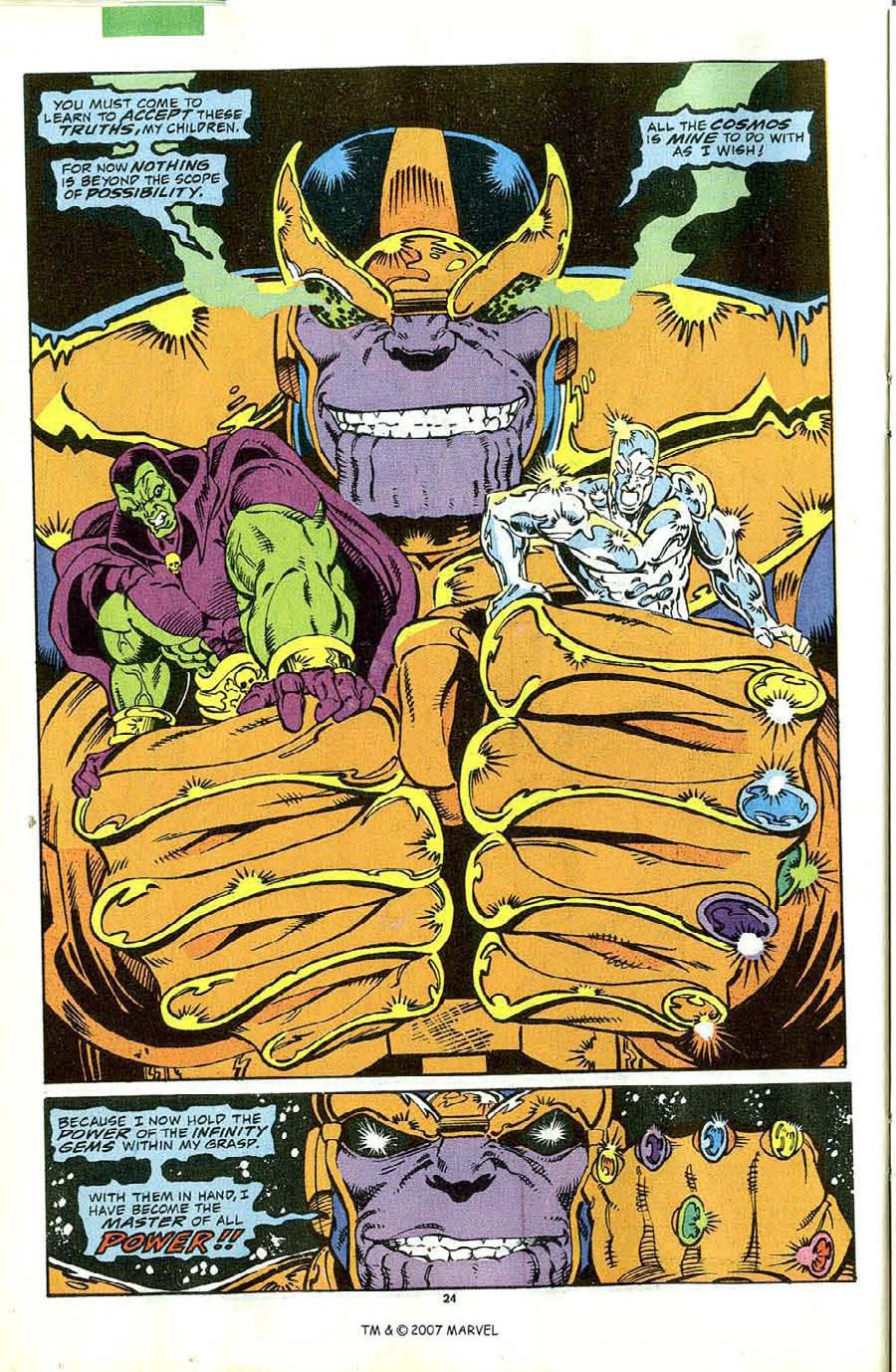 Read online Silver Surfer (1987) comic -  Issue #44 - 26