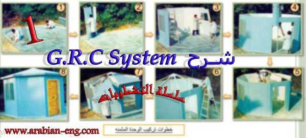 كتاب شرح  G.R.C System (تشطيبات)