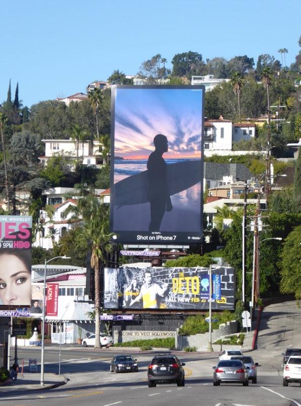 Shot on iPhone 7 Surfer billboard Sunset Strip