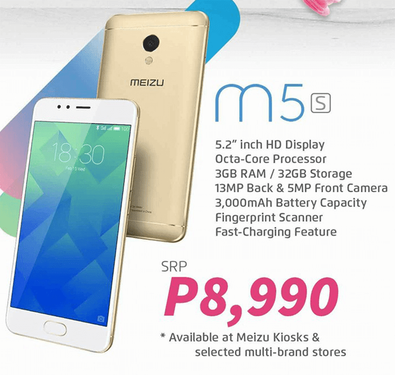 Meizu M5s Now Official In PH, Priced At PHP 8990
