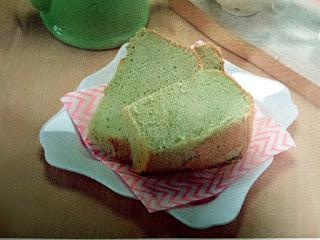 Gambar Resep Green Tea Chiffon Cake