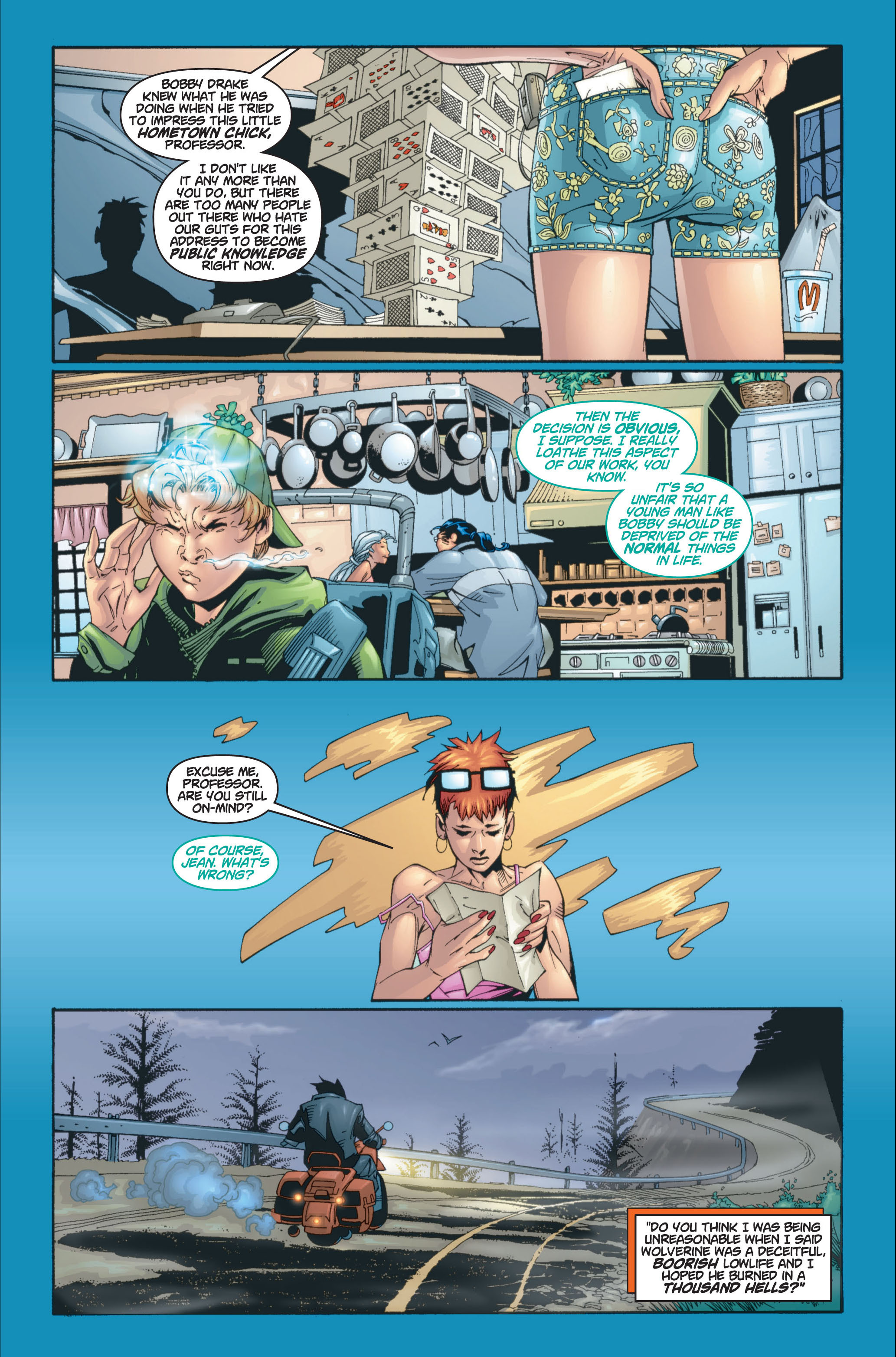Read online Ultimate X-Men comic -  Issue #8 - 12