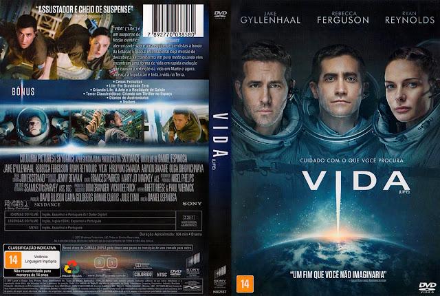Capa DVD Vida (Oficial)