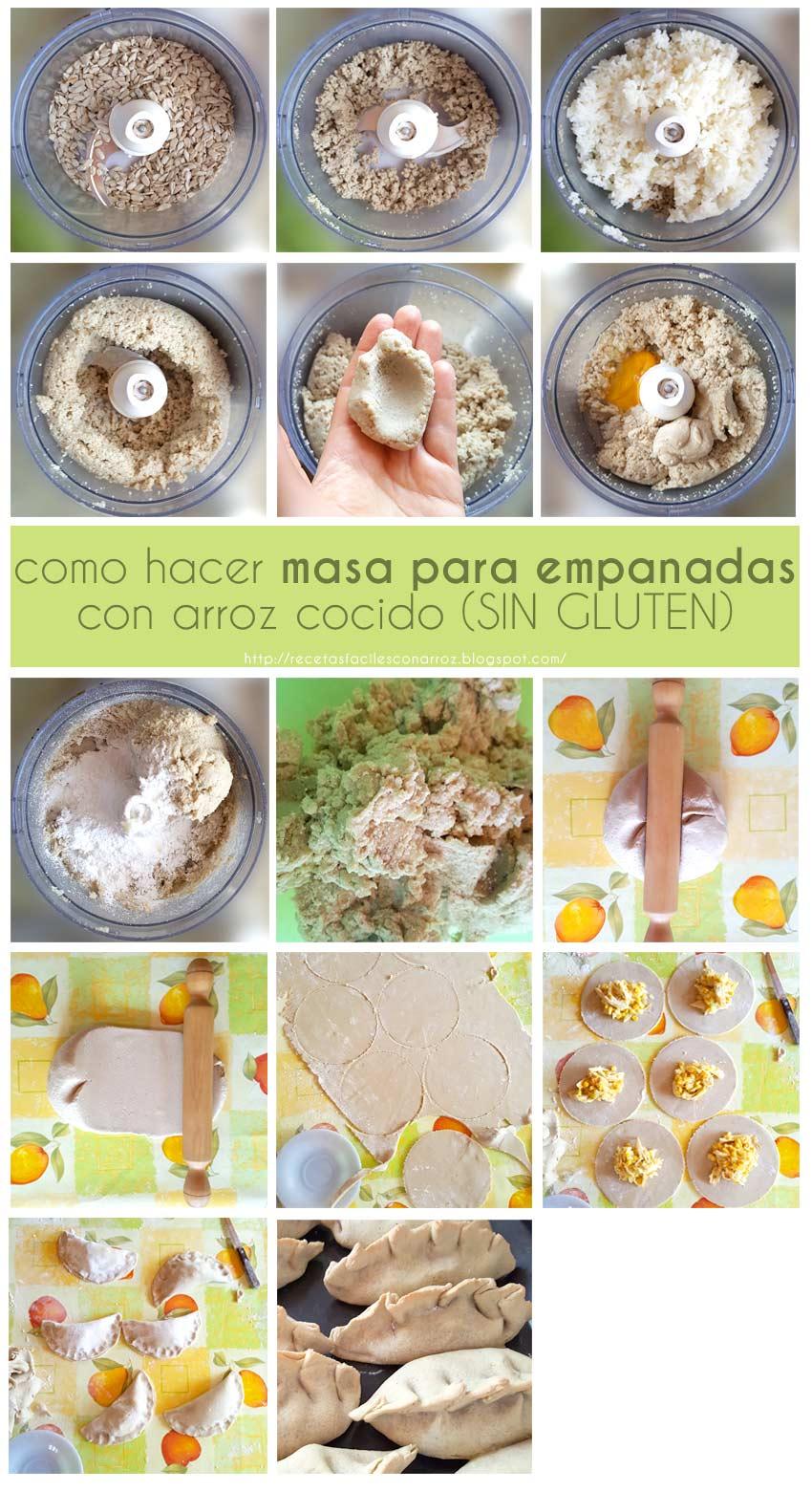 empanadas sin gluten fototutorial