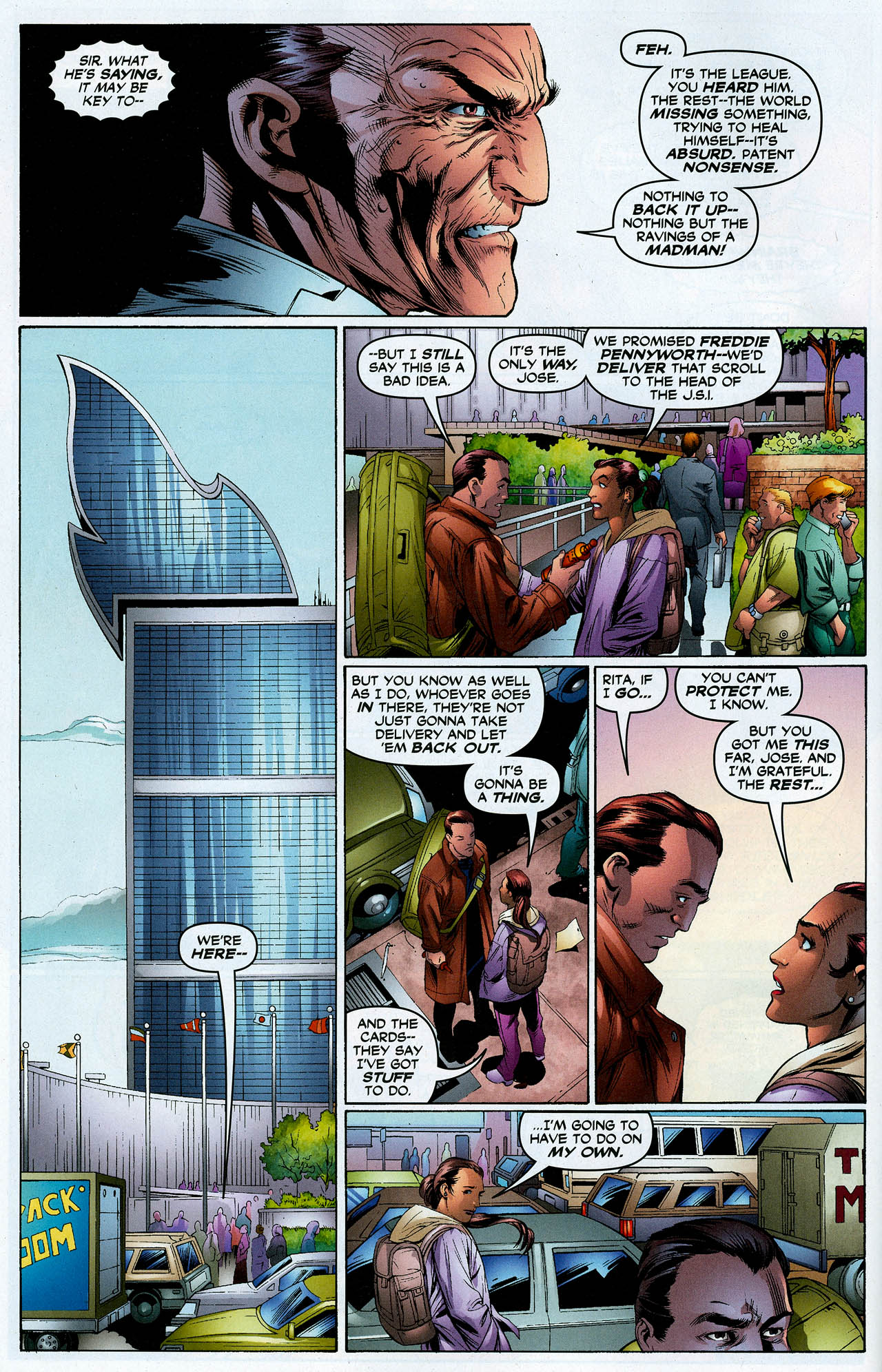 Read online Trinity (2008) comic -  Issue #23 - 10