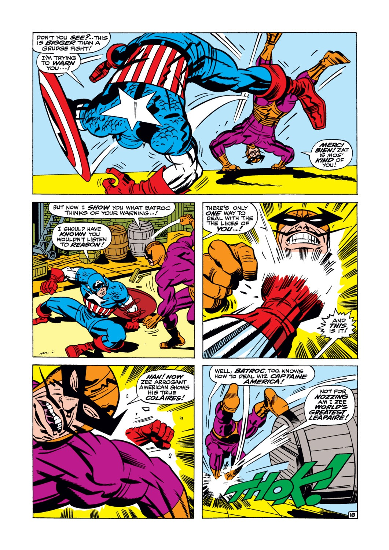 Read online Captain America (1968) comic -  Issue #105 - 19