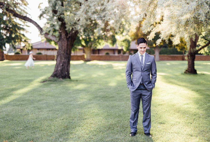 First Look Photography by Seattle Wedding Photographer Something Minted