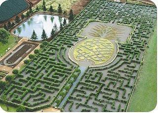 اجمل 15 حدائق المتاهات فى العالم