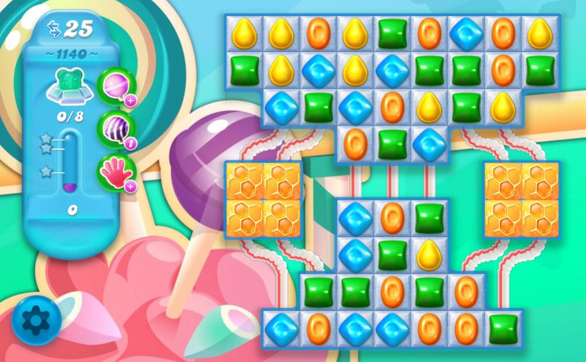 Candy Crush Soda Saga level 1140