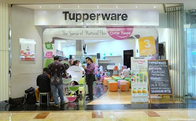 Showroom Tupperware Mall Taman Anggrek