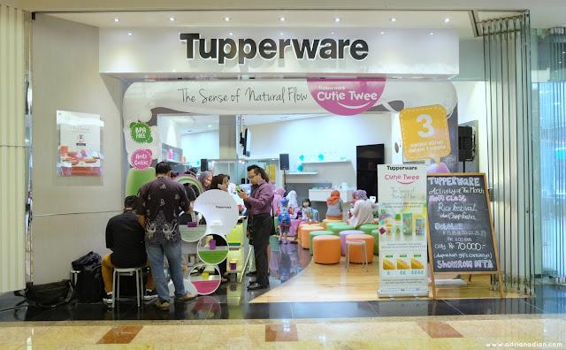 Showroom Tupperware Mall Taman Anggrek